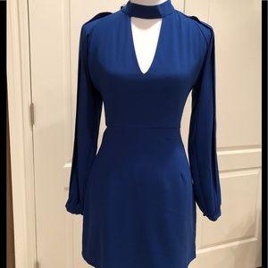 Bebe beautiful Royal Blue Dress